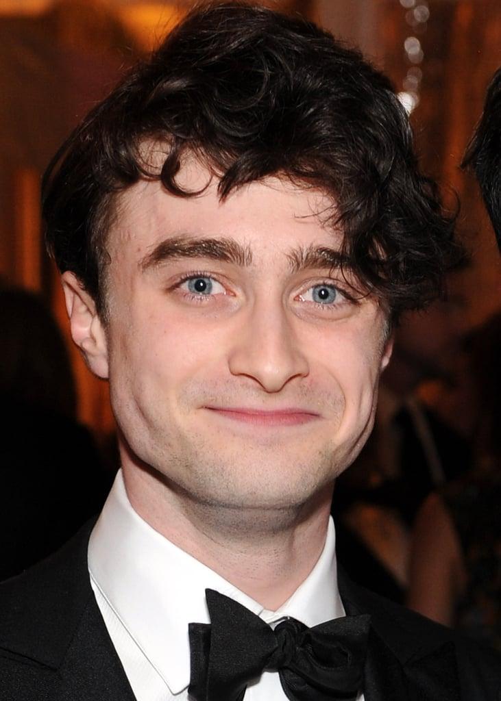 Daniel Radcliffe arrived at the White House Correspondant's Dinner.