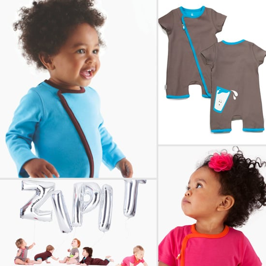 Zipit Makes Getting Baby Dressed a Breeze!