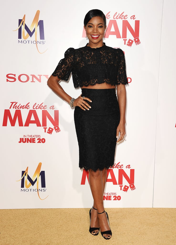 Gabrielle Union looked incredible at the Think Like a Man Too premiere in LA on Monday.
