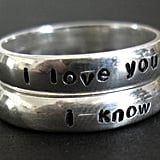 Star Wars Pair of Wedding Bands
