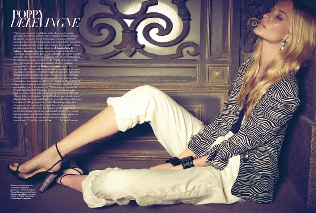 Harper's Bazaar Spain, March 2012