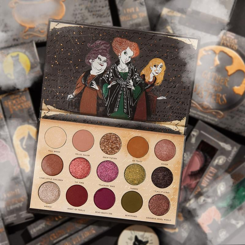 Colourpop x Hocus Pocus Gather Round Sisters Eyeshadow Palette