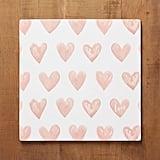 Heart Print Corkmats