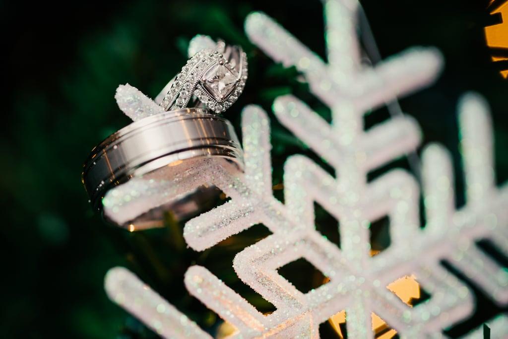 Snowflake Ring Holder