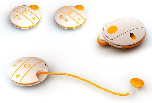 Stylish Clipset Bluetooth Headset