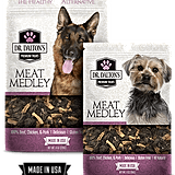 Dr. Dalton's Premium Treats ($13) are made from high-quality meat so you can be sure what you're giving to your dog is good for him and tastes delicious. The treats come in beef, chicken, and meat medley flavors and have no additives in them.