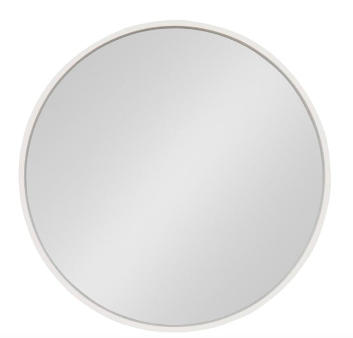 Kate and Laurel Travis Round Wall Mirror