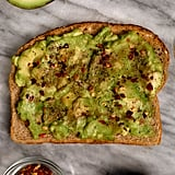 Avocado Toast With Red Pepper Flakes