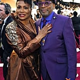 Pictured: Spike Lee and Jenifer Lewis
