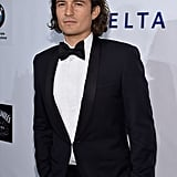 Orlando Bloom suited up for the Friars Foundation Gala Honoring Robert De Niro in NYC on Tuesday.