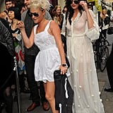 Party girls Daisy Lowe and Jaime Winstone wore co-ordinating ensembles.