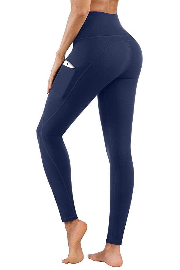PHISOCKAT High Waist Yoga Pants with Pockets