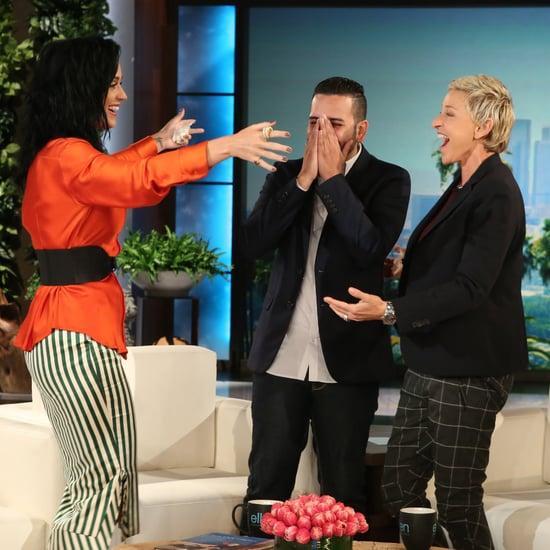 Katy Perry Surprises Orlando Shooting Survivor 2016