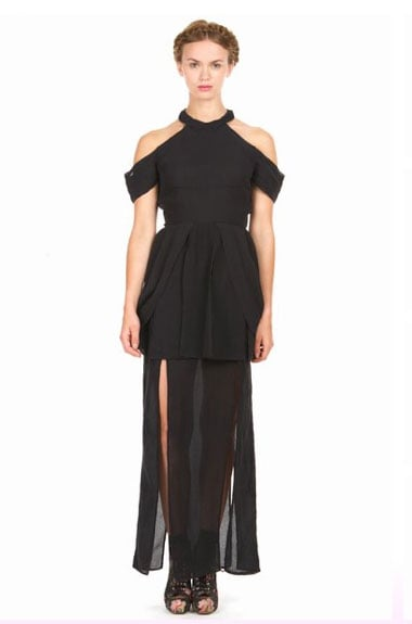 For the subversive girl, this Rodarte for Opening Ceremony dress will surely turn heads.  Rodarte for Opening Ceremony Ling Collared Dress ($260, originally $865)