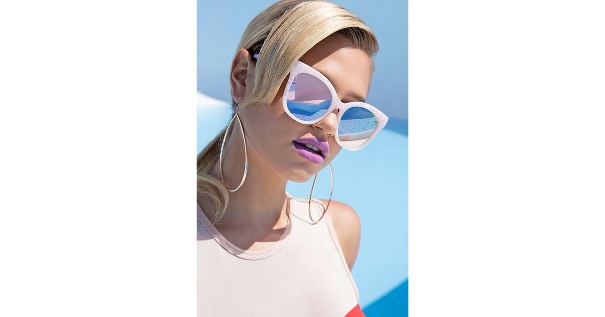 dde2cdafba00f Forever 21 Melt Marble Square Sunglasses