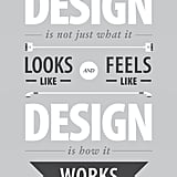 Design Is How It Works ($18)
