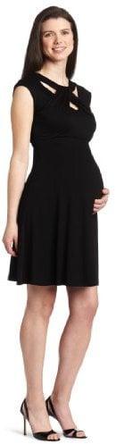 maternal America loop neck dress