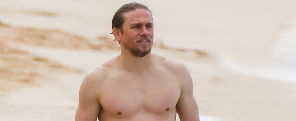 Charlie Hunnam Fans, These Shirtless Pictures Are Just . . . *Chef's Kiss*