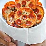 Mini Deep-Dish Pepperoni Pizzas