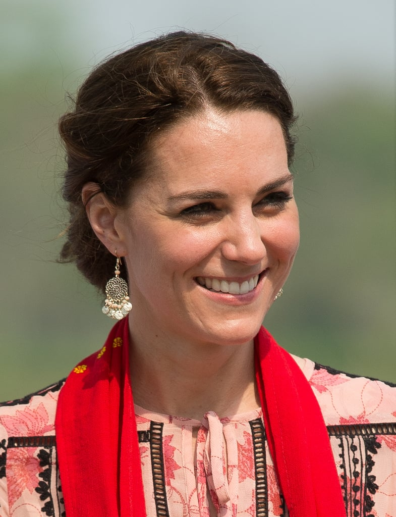 Alexander McQueen, Jenny Packham, and diamonds borrowed from her majesty are all befitting of a princess, but no member of the royal family has ever been more nifty at blending jaw-dropping designer numbers with budget finds than the Duchess of Cambridge. Kate can wow in hefty price tags, but she is just as likely to break out a bargain on the red carpet. Here we take a look at her most frugal finds.
