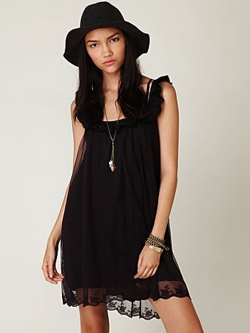 Dress this one up with a great leather jacket and booties for a cool-girl vibe.  Free People Picture Show Slip ($88)