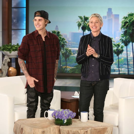 Justin Bieber Interview and Scaring Video on Ellen