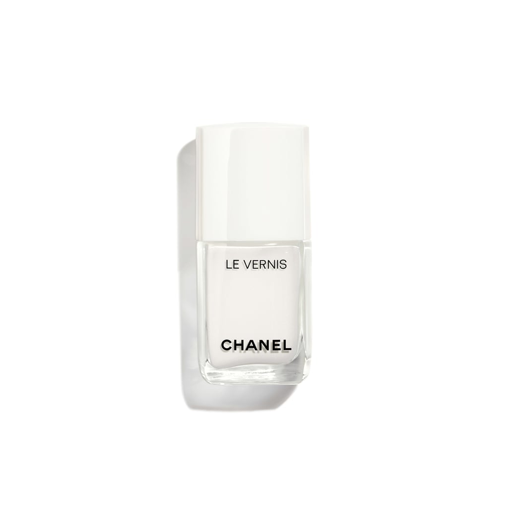 Chanel Le Vernis Limited Edition Longwear Nail Colour 711 In Pure White White Nail Polish