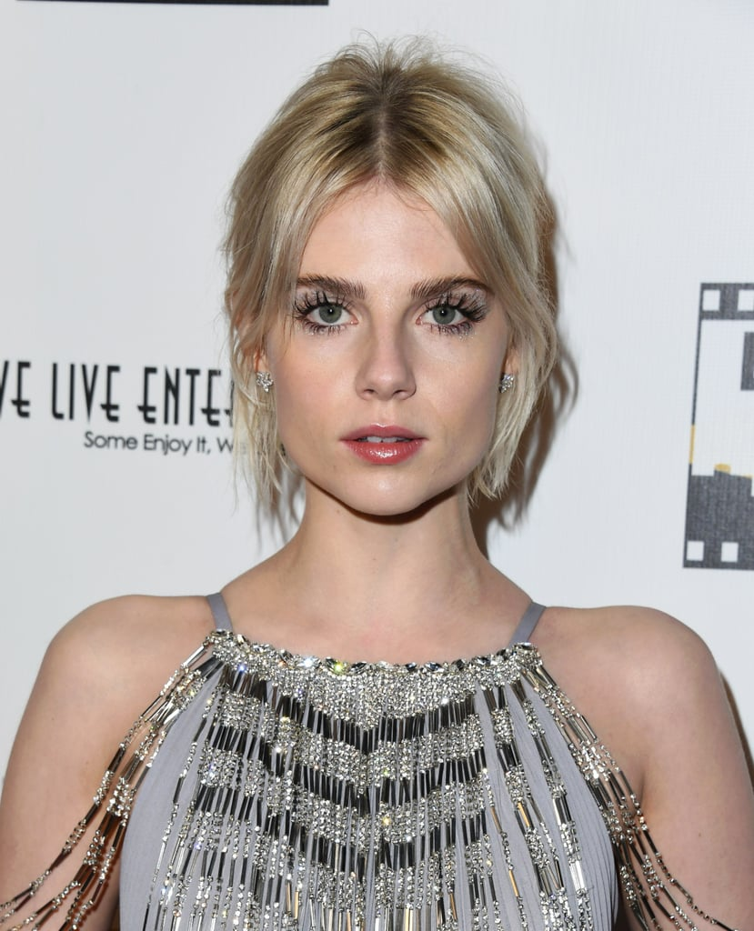 Lucy Boynton Award Season Makeup 2019