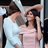 When They Chatted During Trooping the Colour