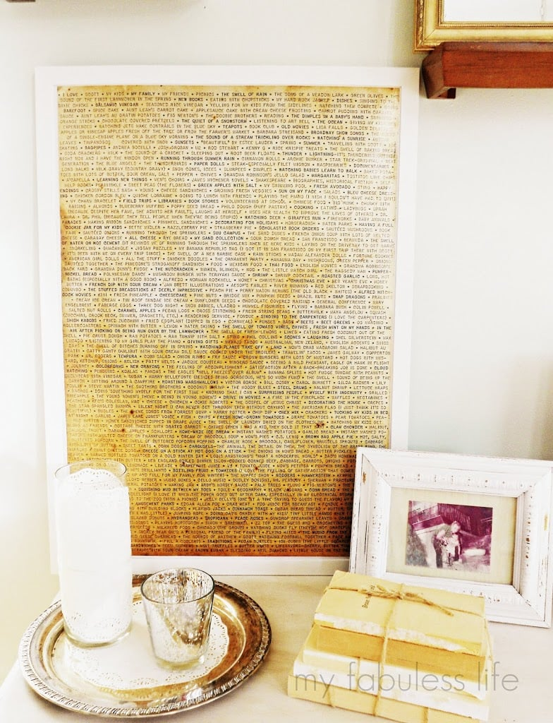 Wall Art Made From Sentimental Writing | Thoughtful Valentine\'s Day ...