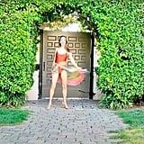 Alessandra Ambrosio's Garden Wall