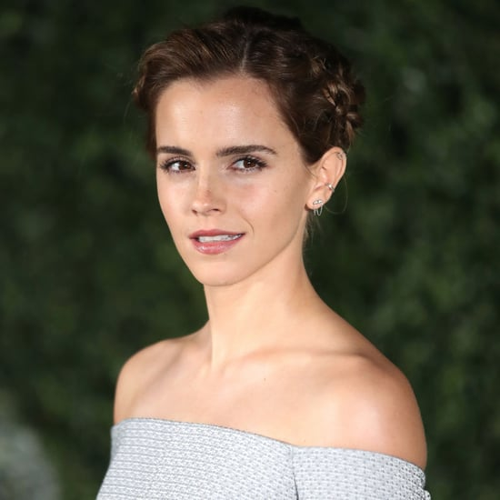Emma Watson Beauty and the Beast Hair and Makeup Tour Looks