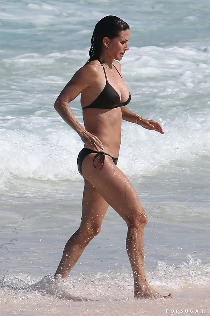 Courteney Cox Bikini Pictures in the Bahamas April 2017 ...