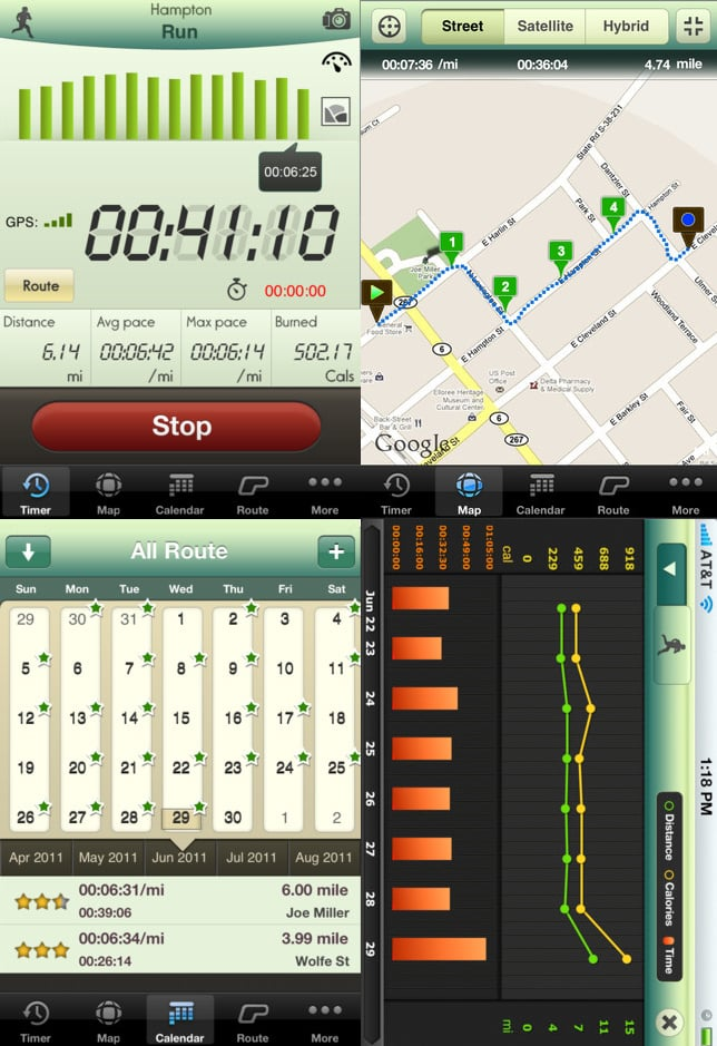 Best Free or Cheap Running Apps