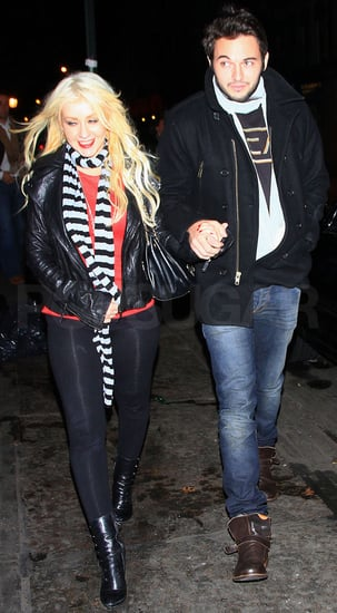 Pictures of Christina Aguilera Out With New Boyfriend Matthew Rutler