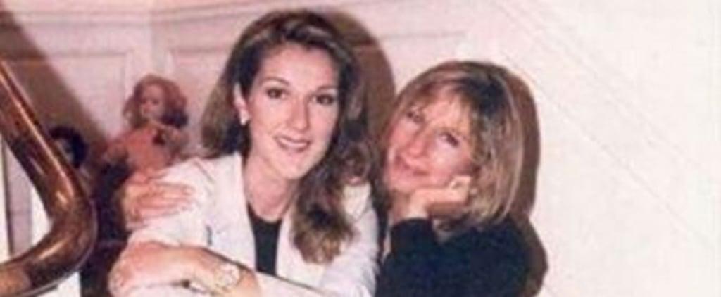 Barbra Streisand Posts Instagram Message For Celine Dion