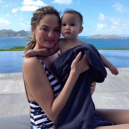 Chrissy Teigen Vacation Instagram Photos St. Barts Jan. 2017
