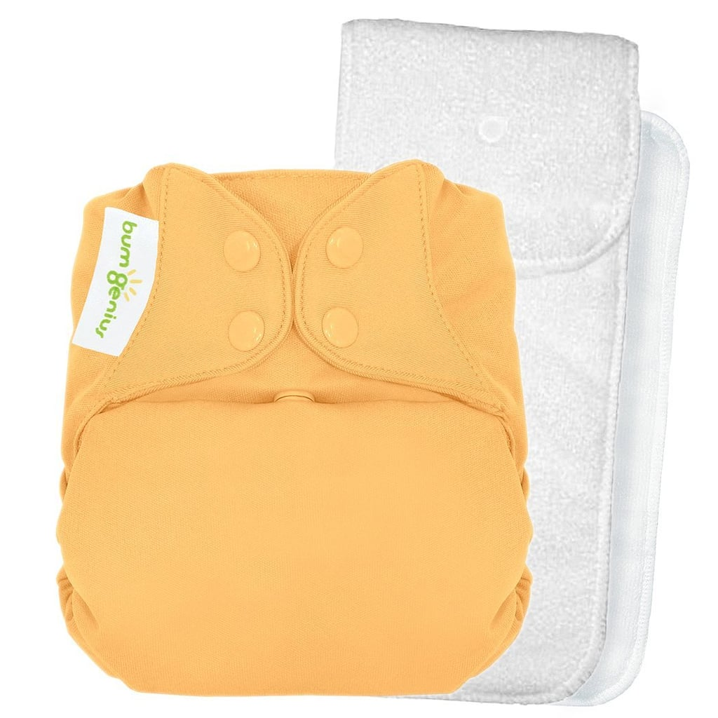 bumGenius One-Size Snap Closure Cloth Diaper ($18)
