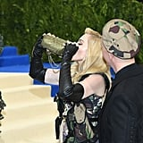 Pictured: Madonna and Jeremy Scott