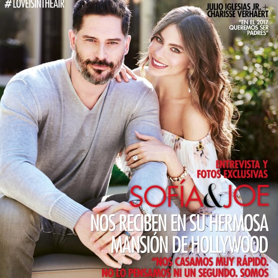 Sofia Vergara and Joe Manganiello Cover Hola USA March 2017
