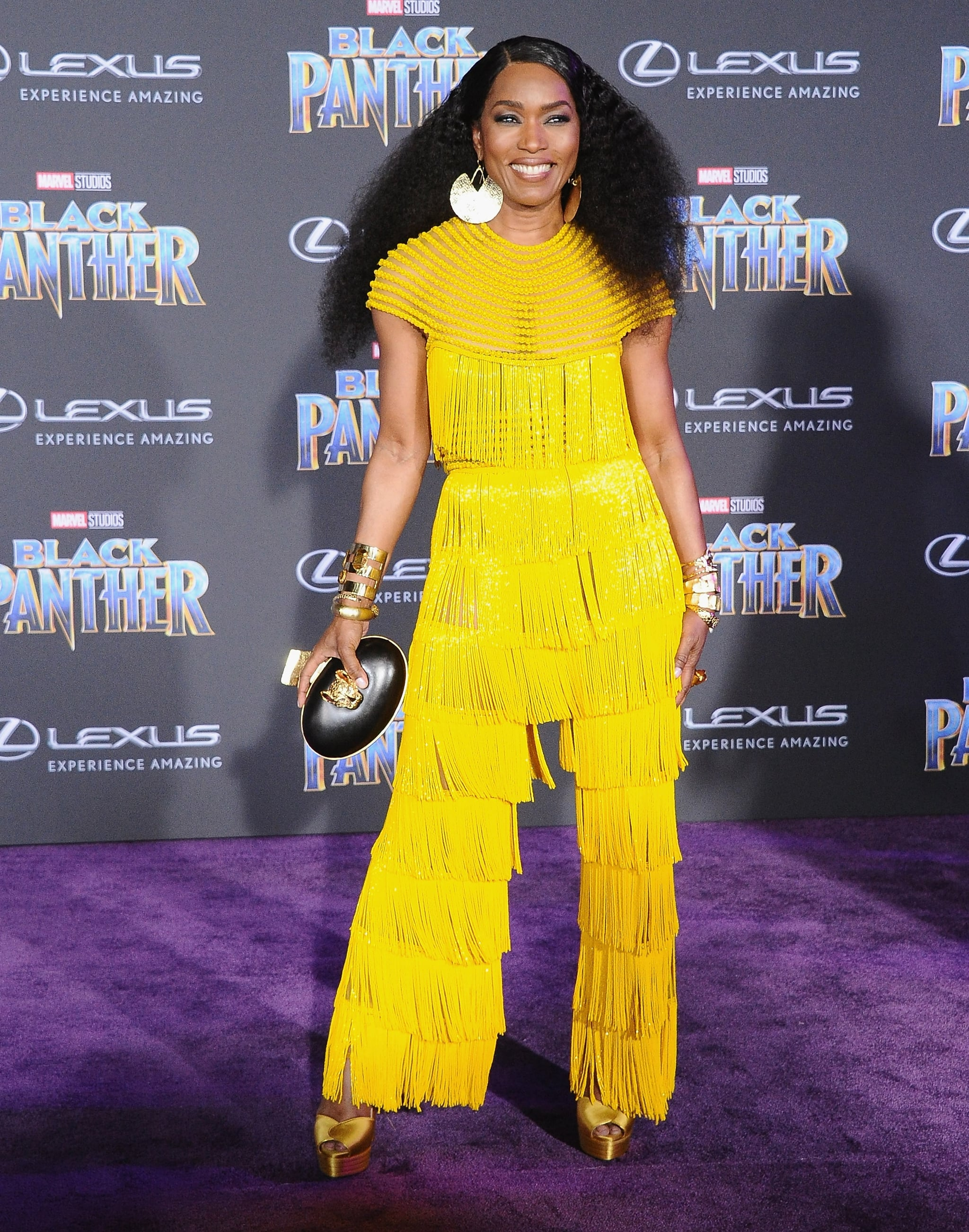 HOLLYWOOD, CA - JANUARY 29:  Angela Bassett attends the Los Angeles Premiere