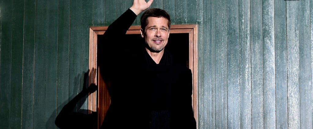 Brad Pitt Makes a Debonair Appearance in China to Promote His New Film