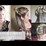 On days when you're feeling like a true queen, you can copy Margaery Tyrell's plaited style.