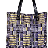 Missoni Cotton and Leather Tote