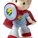 Precious Moments Boy in Superhero Outfit Figurine