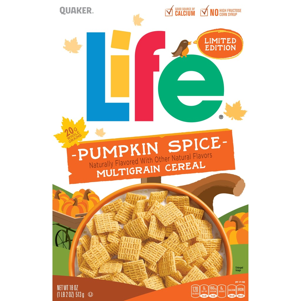 Quaker Pumpkin Spice Life Cereal