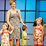 She loves her kids . . .