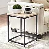 Lander End Table in Black