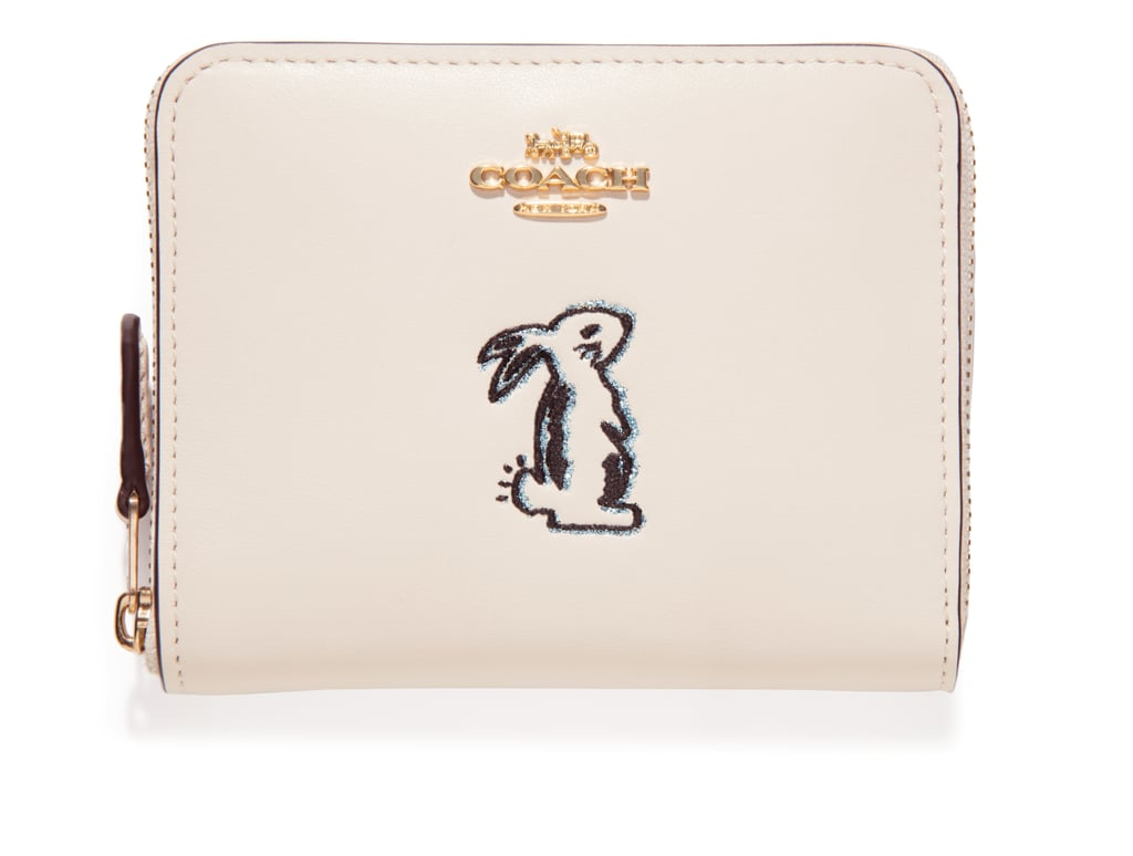 f76f39f5dde3 Coach x Selena Small Zip Around Wallet With Bunny