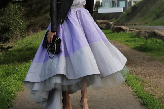Carrie-Bradshaw-Inspired Skirt From the Movie Sex and the City